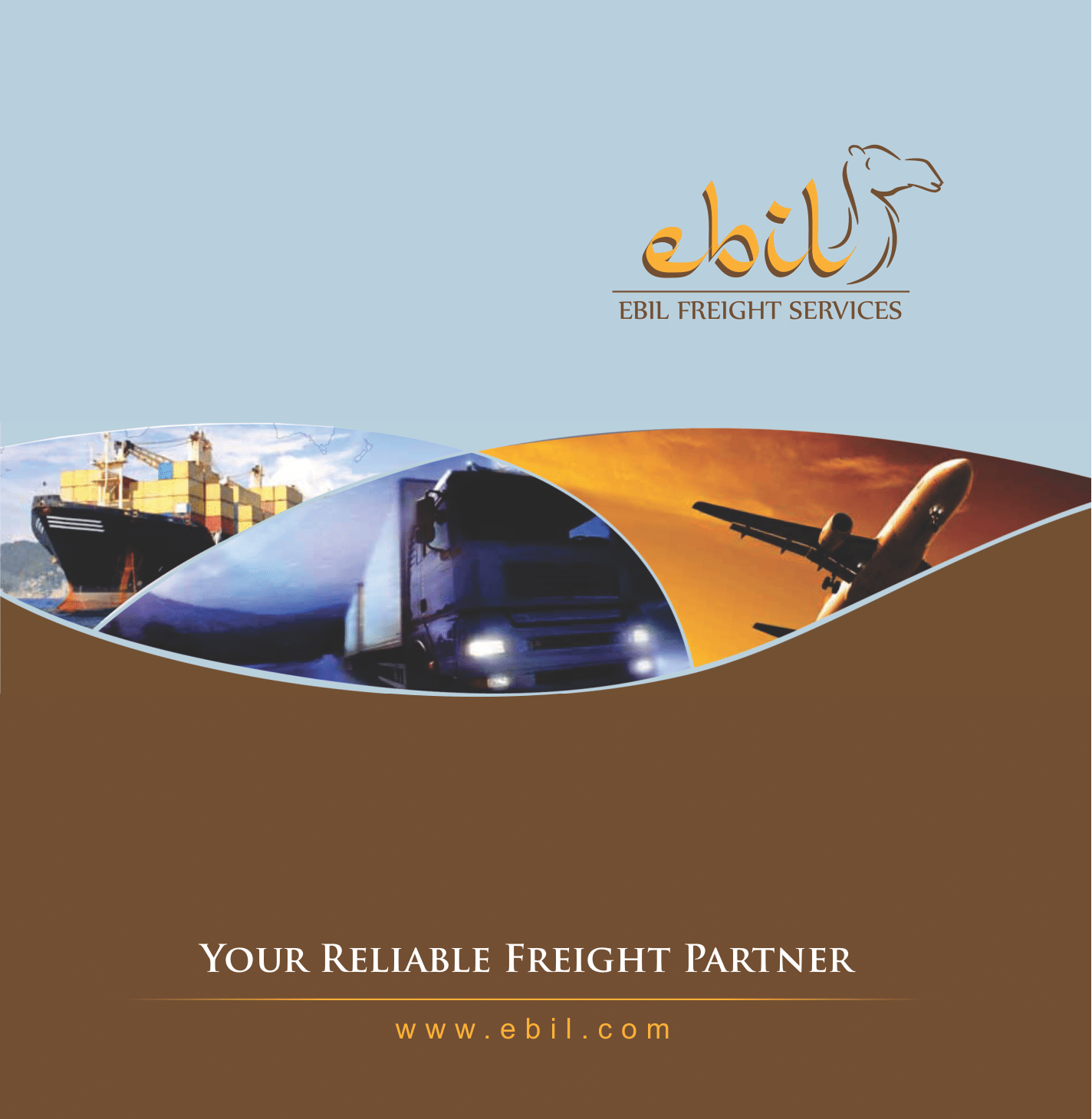 Brochure of EBIL Freight Services